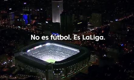 Los clubes impulsan la campaña 'No es fútbol. Es LaLiga'