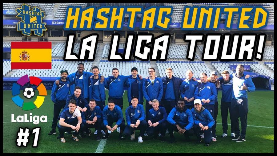 Eibar y Oviedo activan su marca digitalmente en USA y UK con Hashtag United