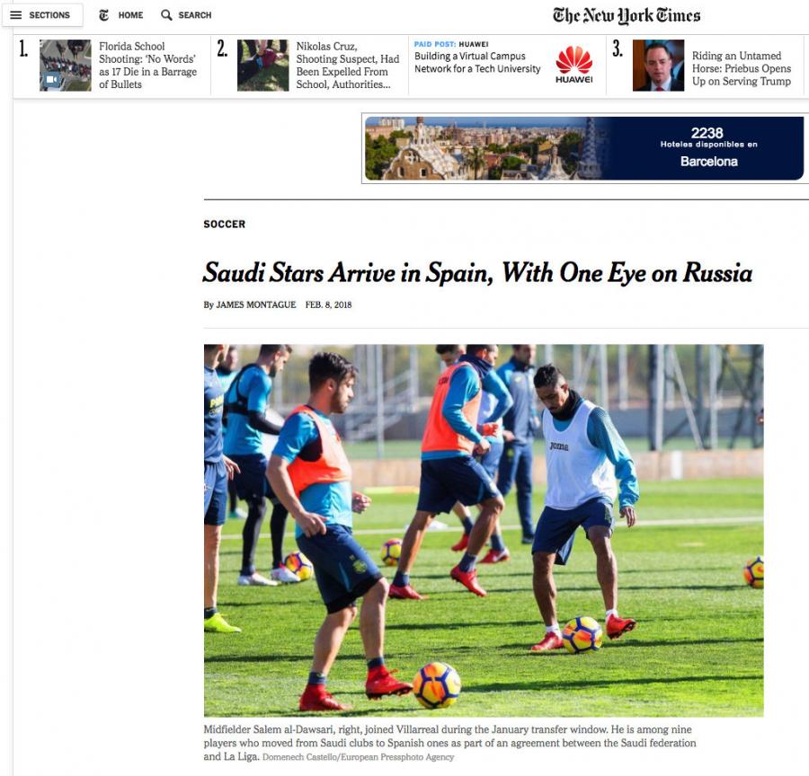 Siete clubes de LaLiga revolucionan el fútbol en Arabia Saudí