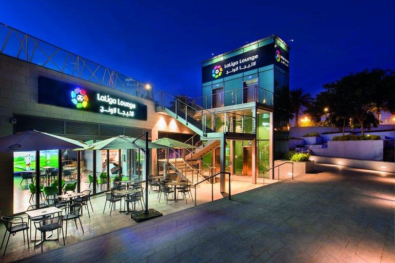 LaLiga Lounge de Doha, un enclave estratégico para la marca de los clubes