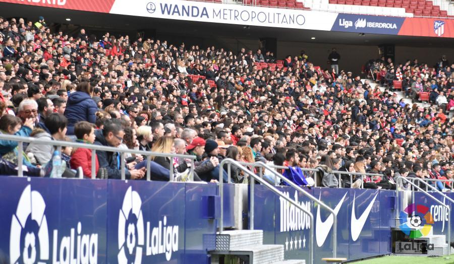 El fútbol femenino conquista España: ¡22.202 espectadores en el Wanda!
