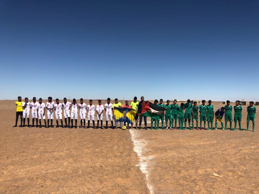 Betis y Sevilla unen sus fuerzas en el 'otro Gran Derbi del Sáhara'