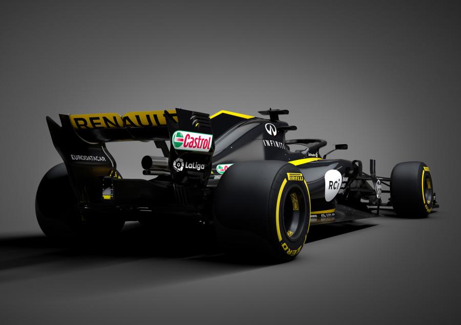 LaLiga acelera con Renault F1 y Carlos Sainz