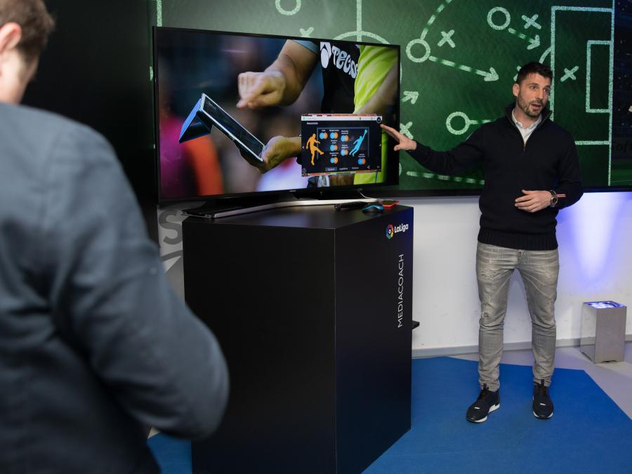 El RCDE Stadium, escenario de lujo para presentar la tecnología de LaLiga al mundo
