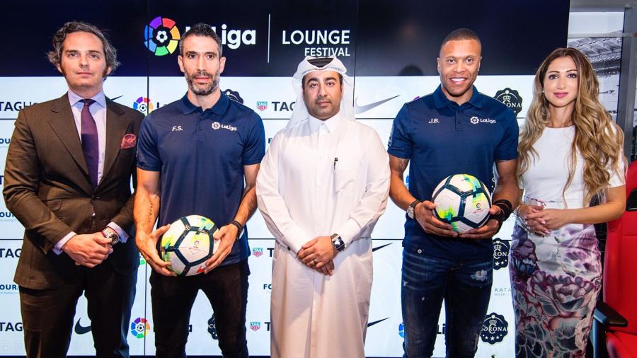 LaLiga Lounge se posiciona como una referencia en Doha para disfrutar del fútbol
