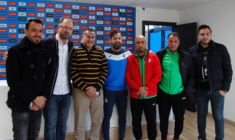 El Espanyol abre una academia pionera en el corazón de Irak
