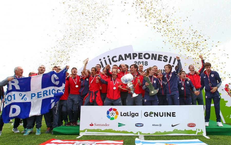 Espanyol, campeón de LaLiga Genuine