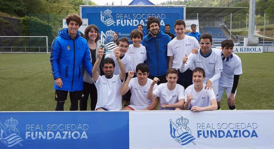 #ElKarrion, la fiesta del fútbol de la Real Sociedad para eliminar barreras y límites
