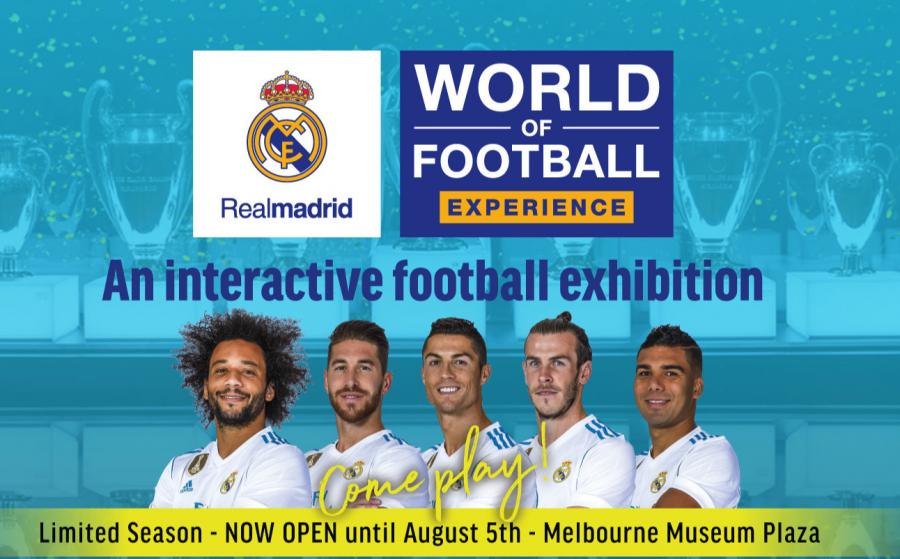 El Real Madrid conquista Australia a través de una exposición interactiva