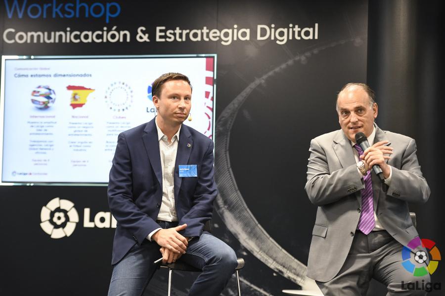 """""""La estrategia de comunicación internacional de un club que no vaya de la mano de LaLiga será como una gota en el océano"""""""