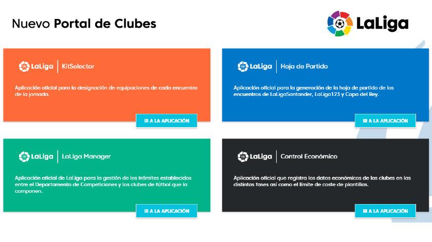 Más de 350 ejecutivos de clubes hacen sus gestiones a través del nuevo Portal de clubes