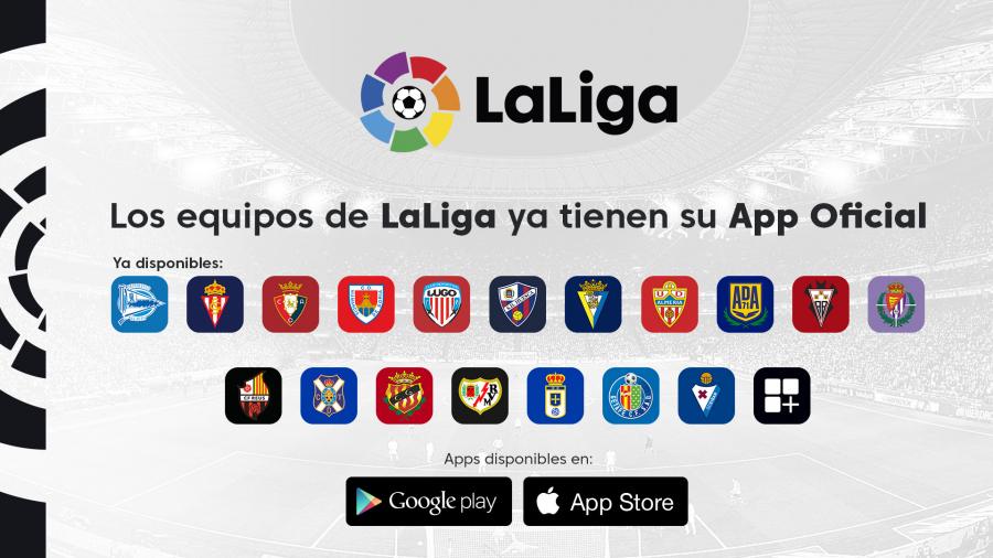 """Los clubes celebran """"el paso adelante"""" en su relación con el fan a través de la 'app' oficial de LaLiga"""