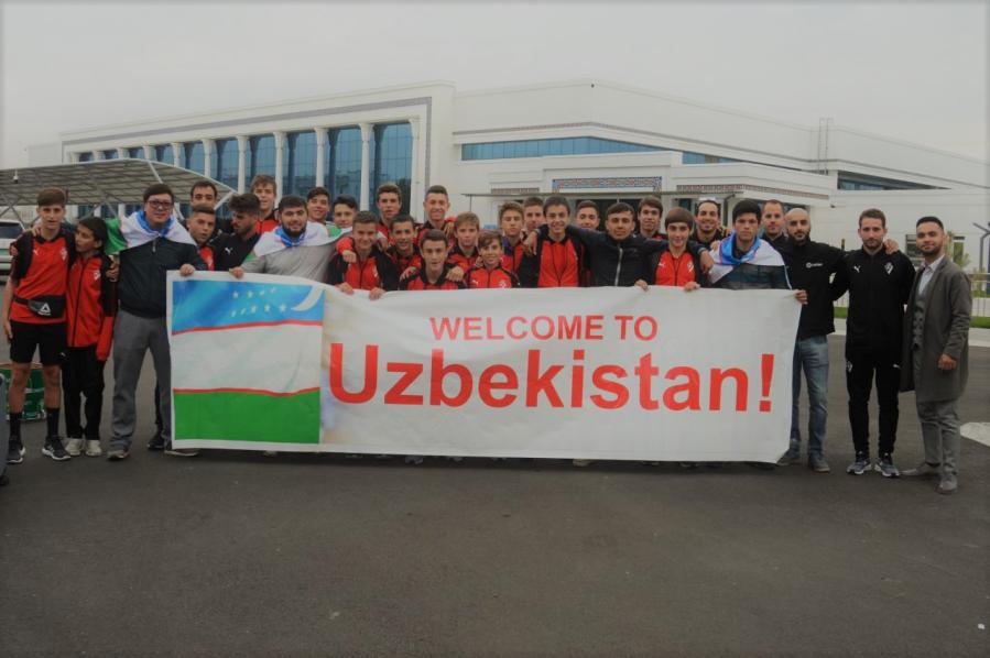 La aventura de la SD Eibar no tiene límites: ¡armeros en Uzbekistán!