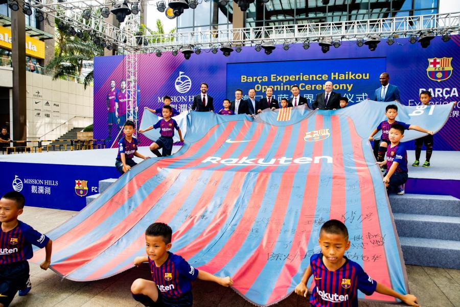 Barça Experience en Haikou: Un viaje al corazón del FC Barcelona