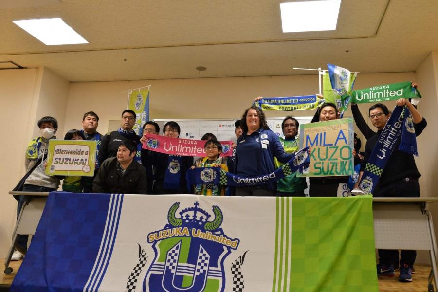 Milagros Martínez, abriendo puertas en el fútbol femenino