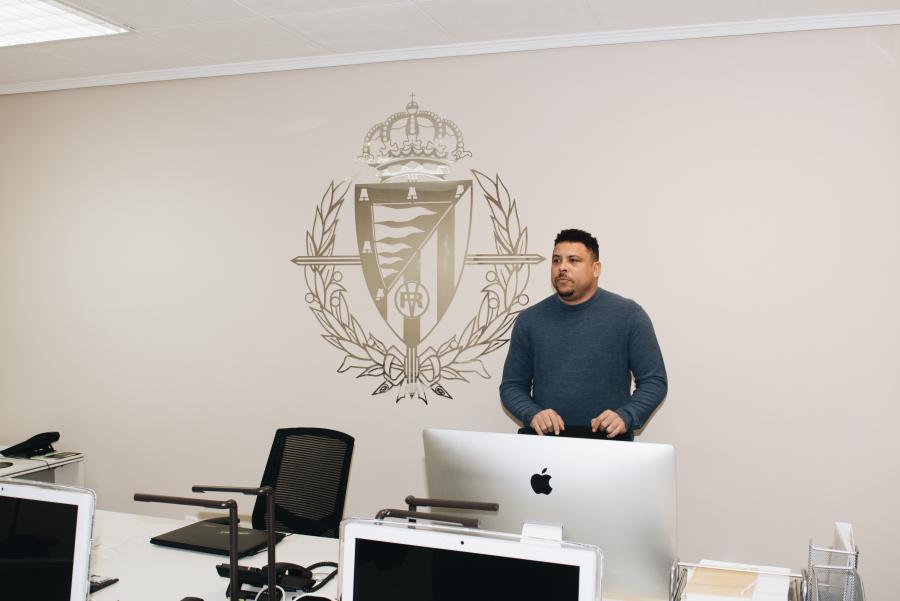La nueva oficina comercial del Real Valladolid en Madrid abre la puerta a patrocinadores nacionales e internacionales