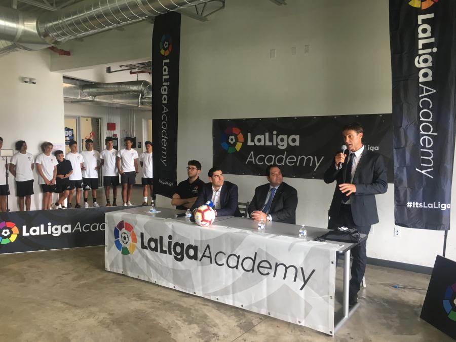LaLiga North America inaugura LaLiga Academy en Miami