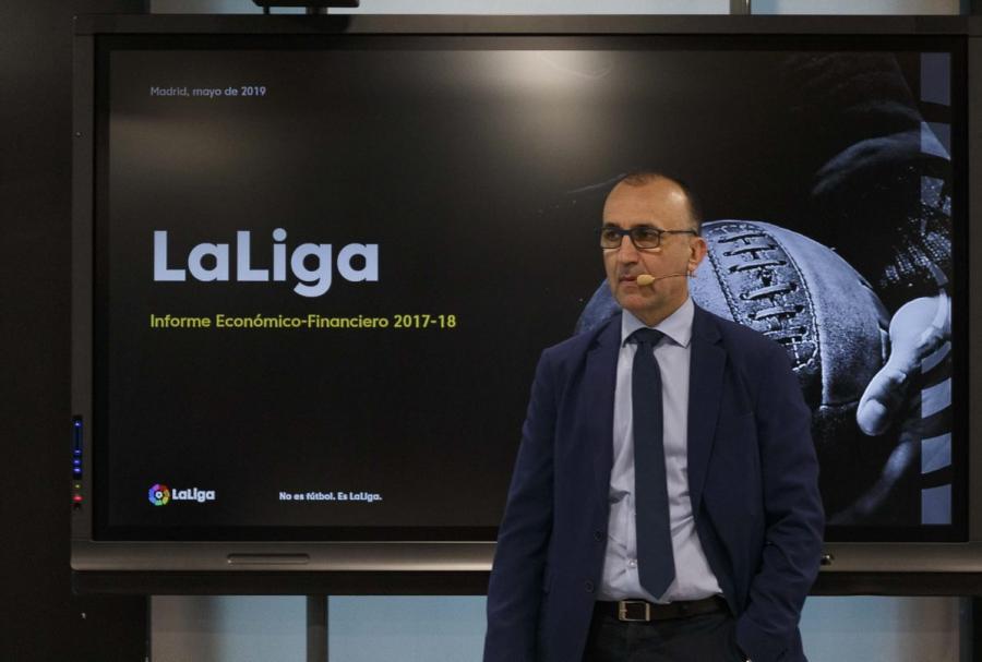 LaLiga crece un 20,6% y alcanza los 4.479 millones de ingresos