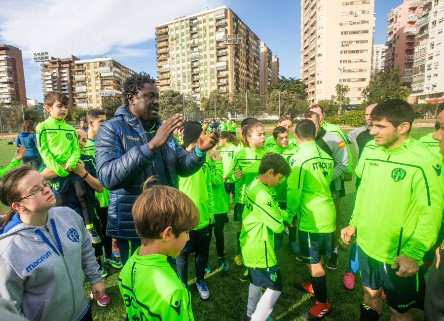 Levante UD: integración social e igualdad como señas de identidad