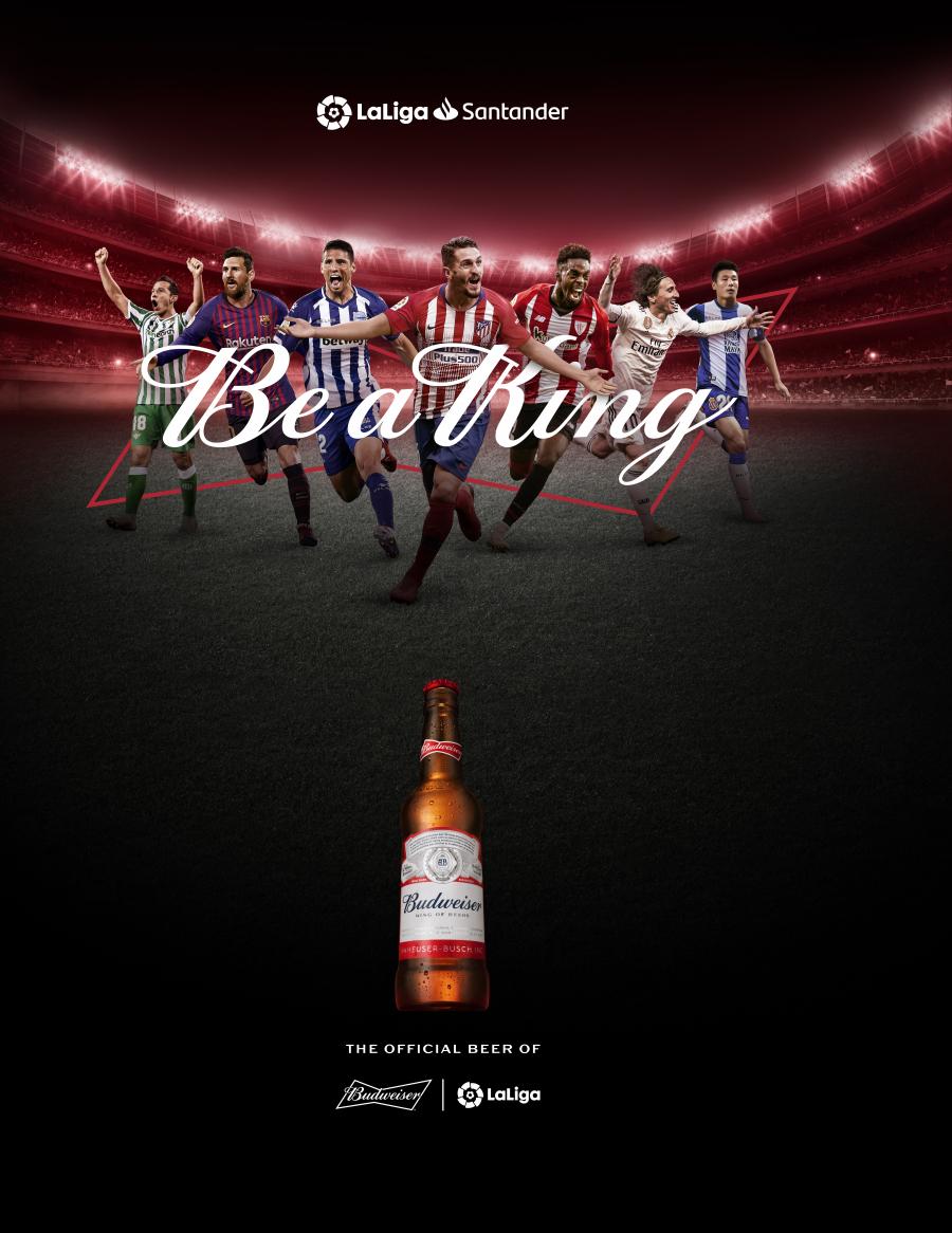 LaLiga aumenta su visibilidad global con el patrocinio de Budweiser