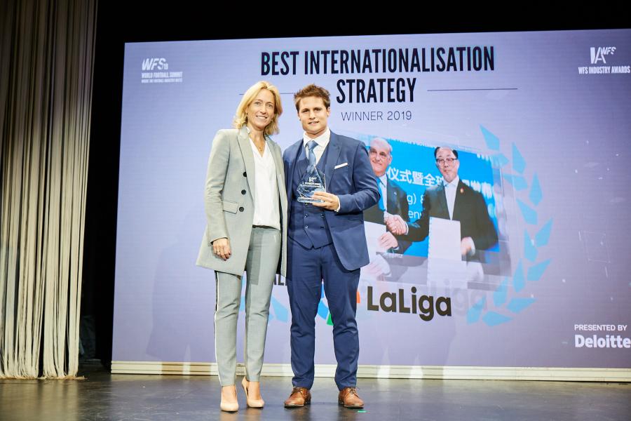 Los premios de la industria del deporte destacan el crecimiento de LaLiga y sus clubes