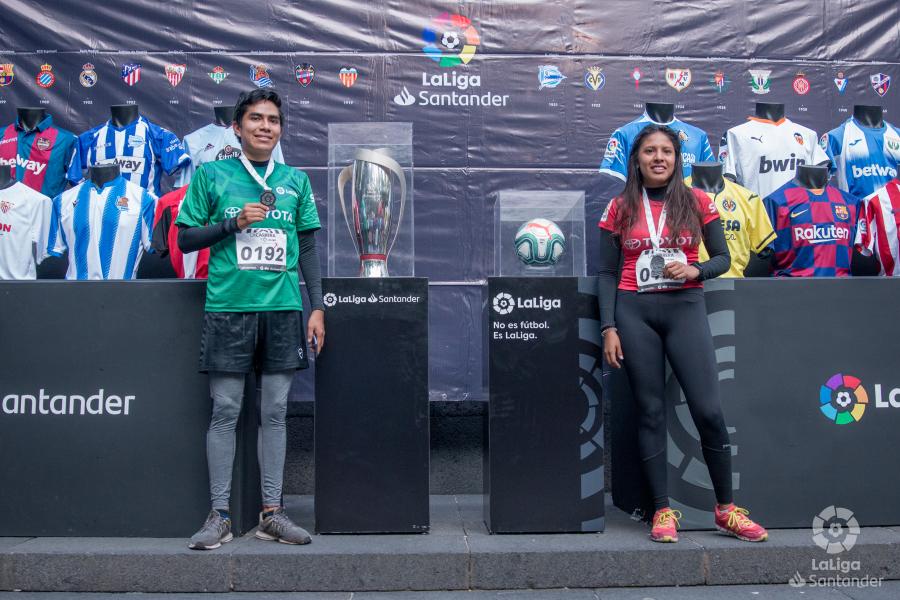 Running y fútbol se unen en Ciudad de México para celebrar La Carrera de LaLiga