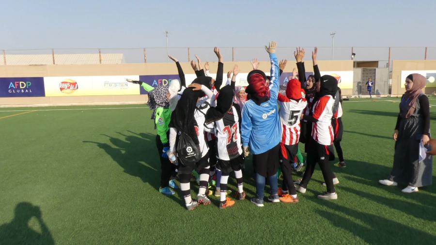 LaLiga desarrolla un ambicioso proyecto solidario para mejorar la vida de los refugiados sirios en Za'atari