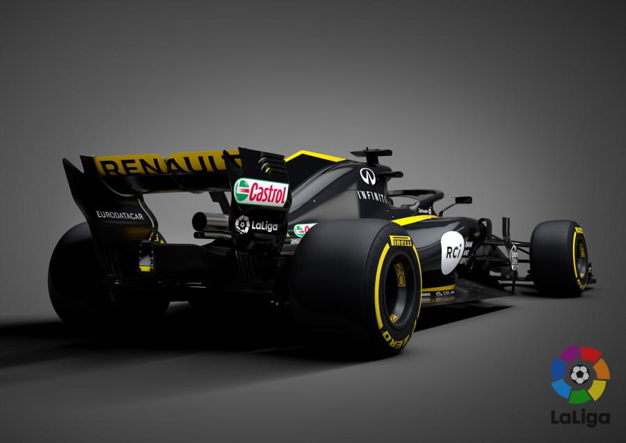 LaLiga accelerates forward with Renault and Carlos Sainz