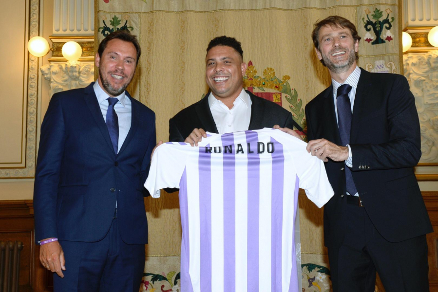 """Ronaldo: """"We want to convert Real Valladolid into a global club, with fans getting excited about us all over the world"""""""