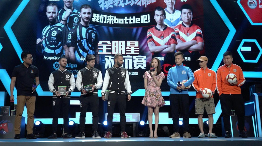 LaLiga's eSports team makes its debut in China