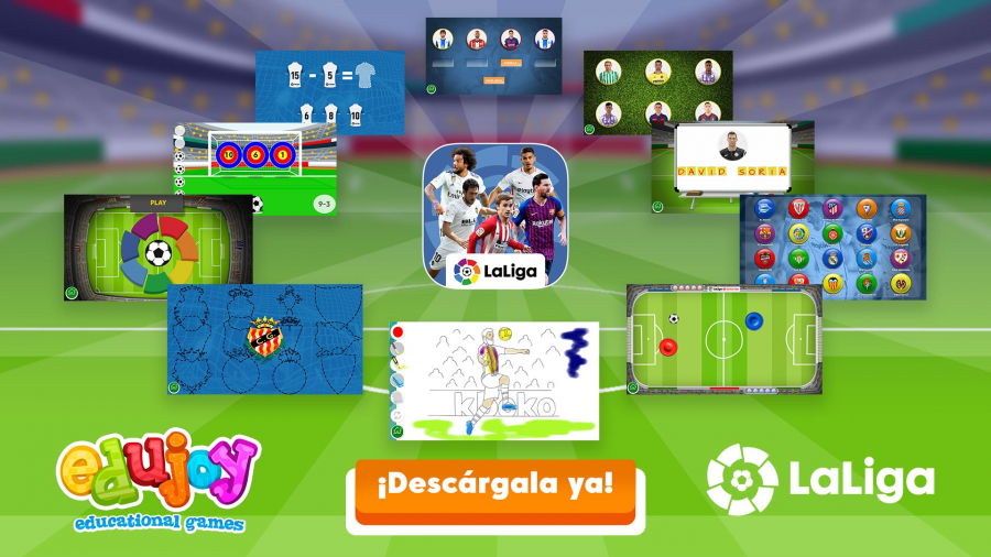 New educational LaLiga football app surpasses 157,000 downloads