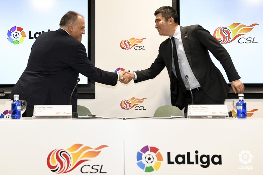 LaLiga increases Asian footprint with new league partnerships