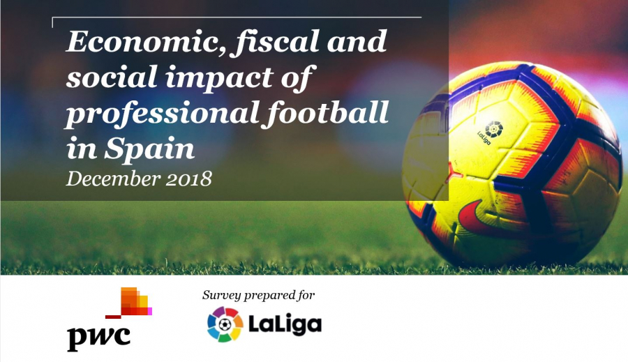 Professional football is worth over €15.68B to the Spanish economy