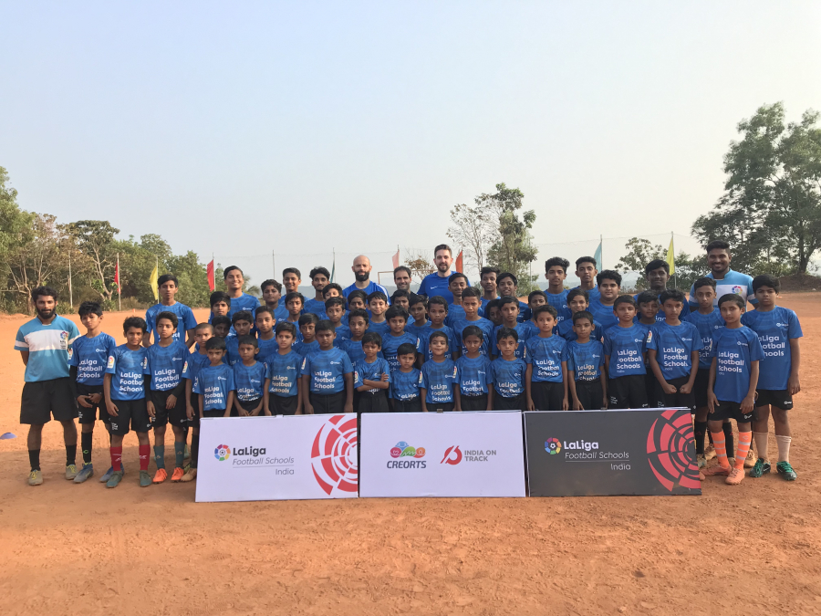 India's unique football programme with over 10,000 students