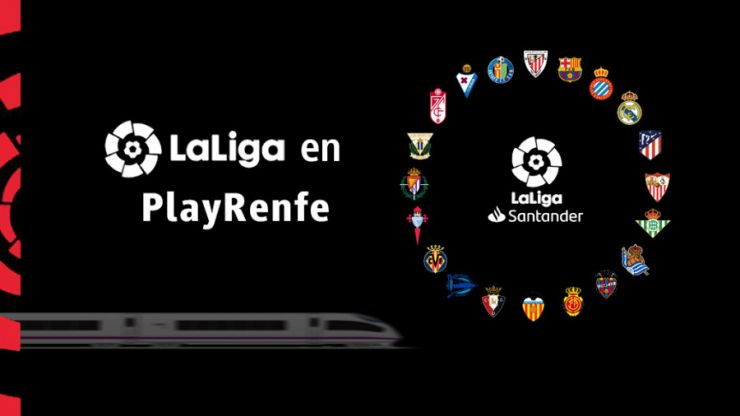LaLiga's partnership with Renfe offers fans live football on their train journeys