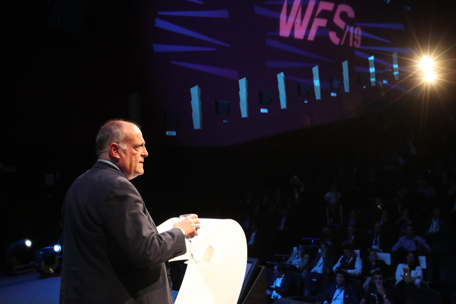 Tebas: Time for sports industry to improve its use of data