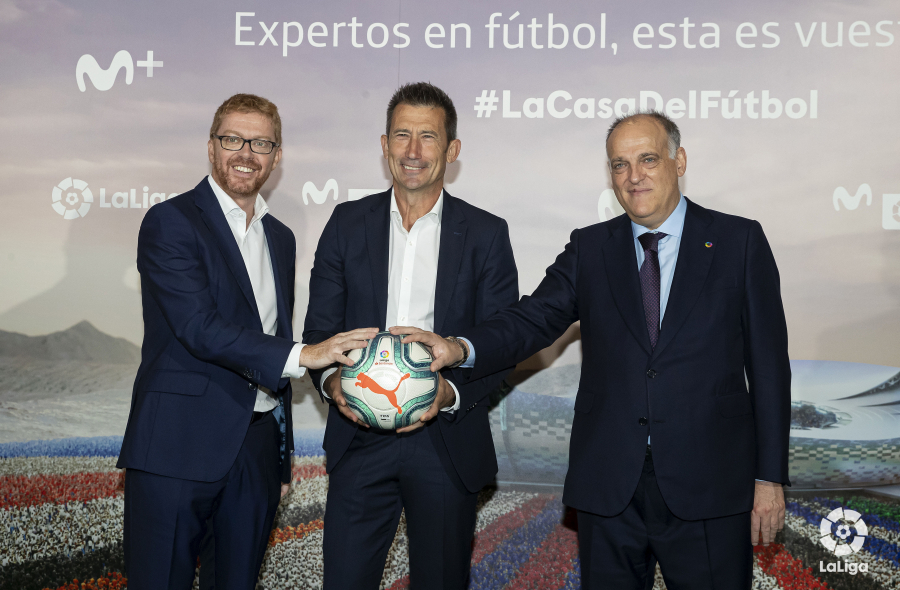 LaLiga and Movistar unveil interactive roadshow