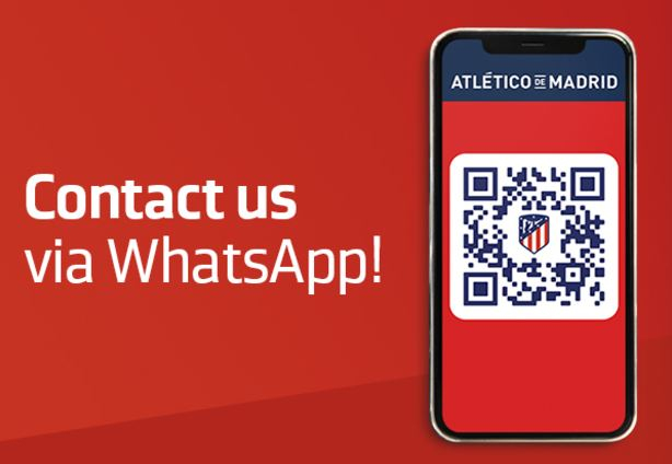 Atlético de Madrid is innovating through WhatsApp