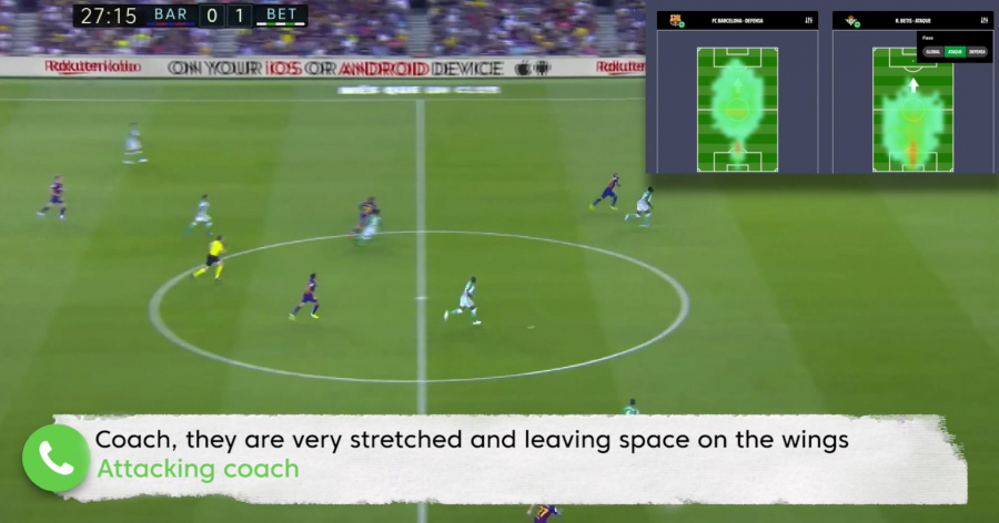 LaLiga's Mediacoach offers real-time performance data in the cloud