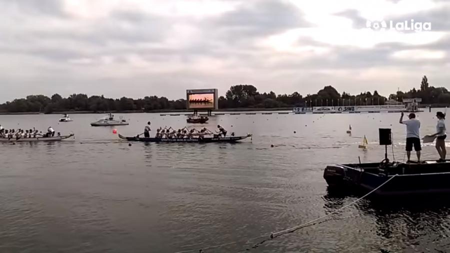 El bronce en el Europeo de Dragon Boat