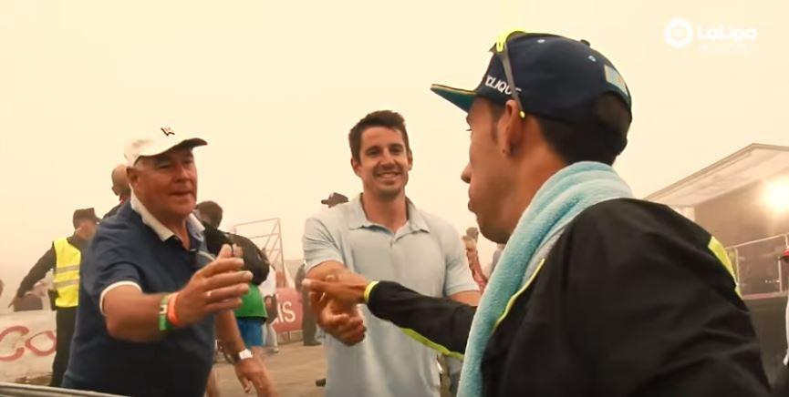 Un día en La Vuelta con Jon Carazo y Omar Fraile