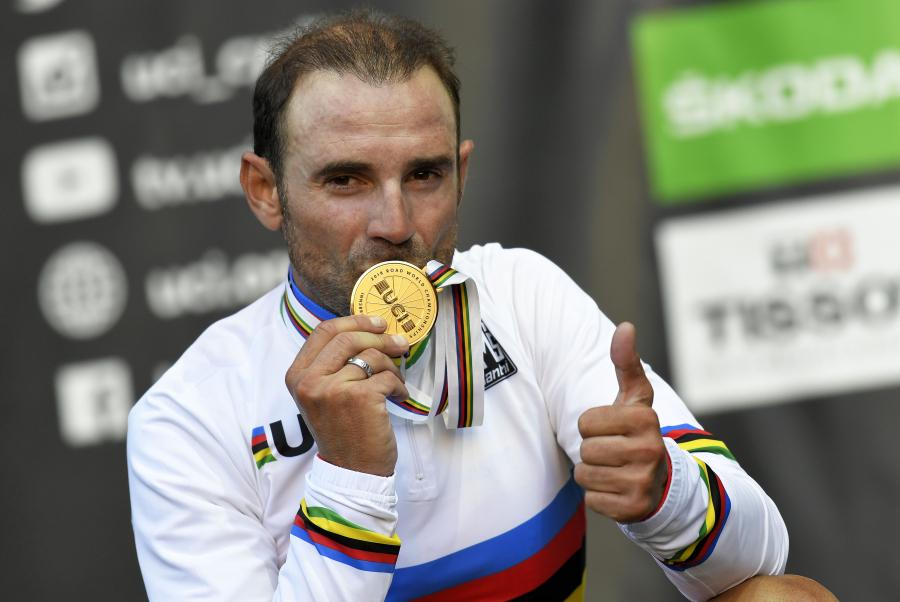 Alejandro Valverde: un campeón del mundo para la historia