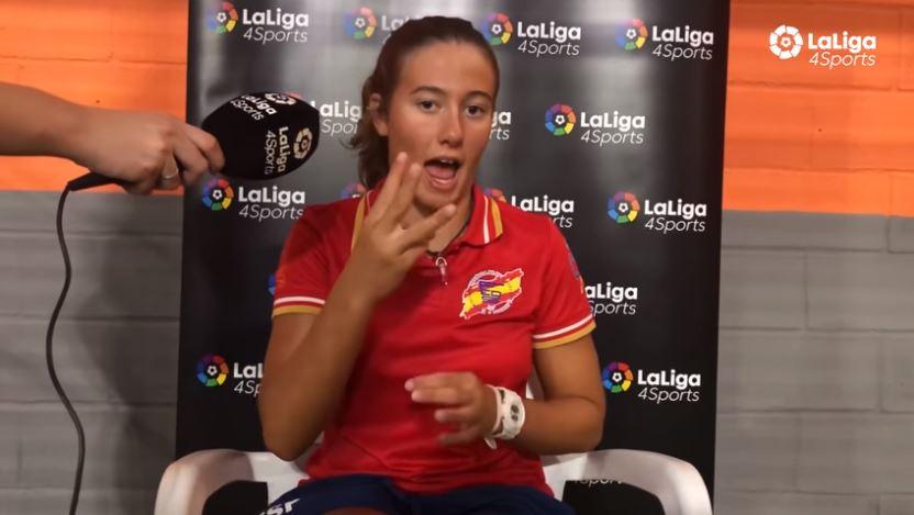 Natalia Jaén, la gran promesa de la natación española para sordos