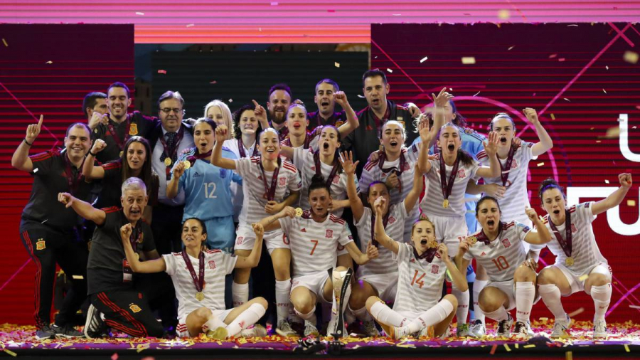 La selección española de fútbol sala hizo historia conquistando el Campeonato de Europa
