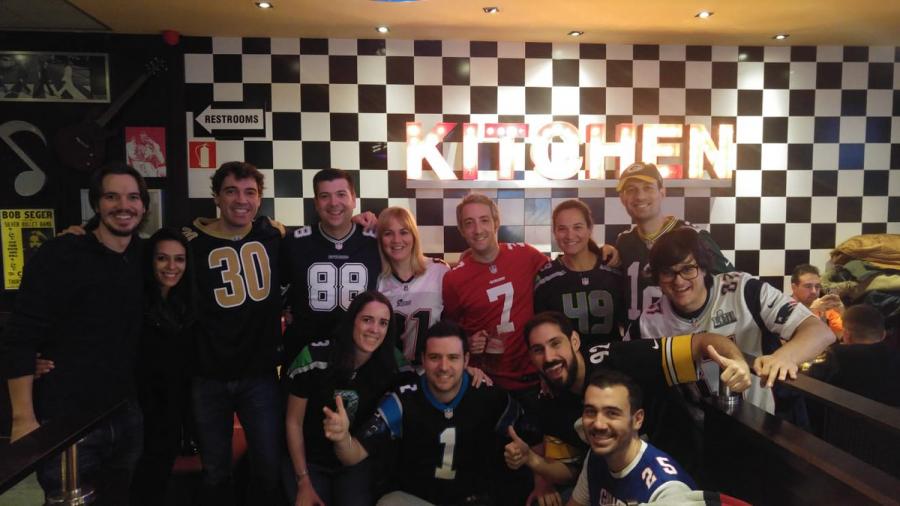 Así se vivió la Super Bowl en España
