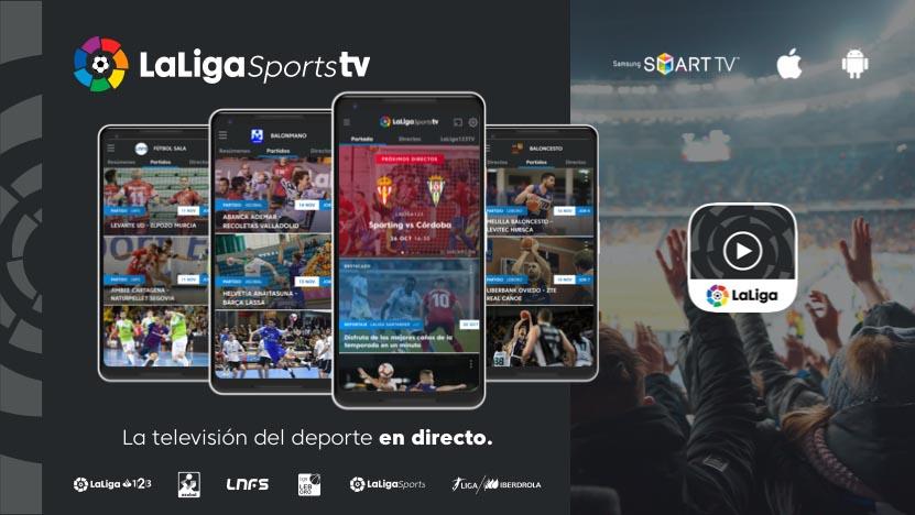 Así funciona LaLigaSportsTV
