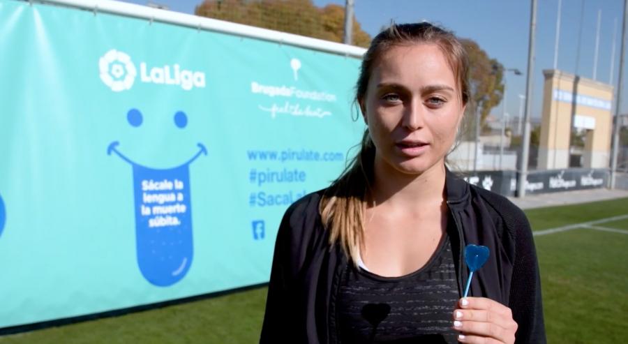 El Espanyol y Paula Badosa se unen contra la muerte súbita