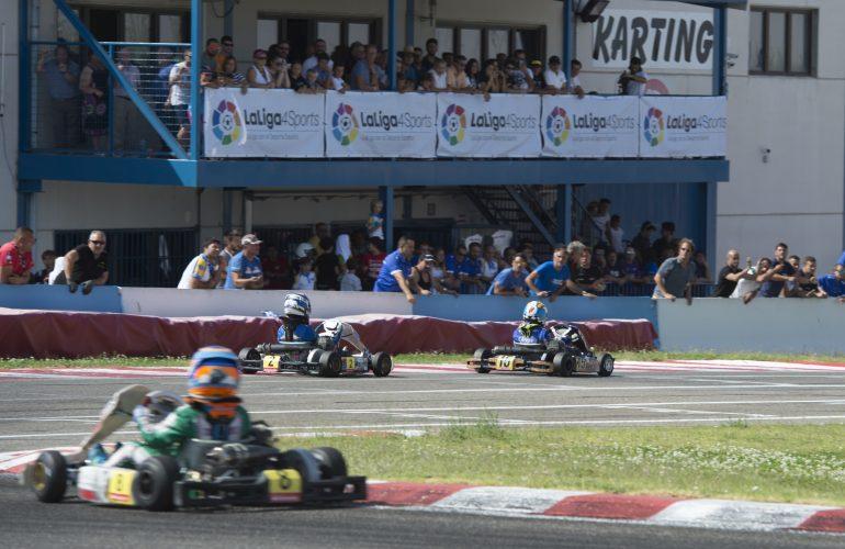 El Campeonato de España de karting LaLigaSports ya está en marcha