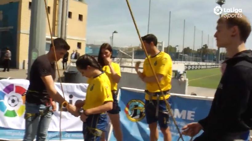 De escalada con el RCD Espanyol