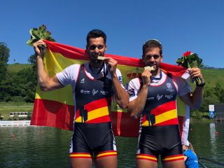 Javier García y Jaime Canalejo, bronce en el Campeonato de Europa de remo